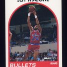 1989-90 Hoops Basketball #085 Jeff Malone - Washington Bullets