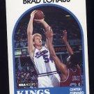 1989-90 Hoops Basketball #074 Brad Lohaus RC SP - Sacramento Kings