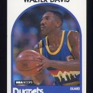 1989-90 Hoops Basketball #061 Walter Davis - Denver Nuggets