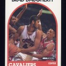 1989-90 Hoops Basketball #050 Brad Daugherty - Cleveland Cavaliers