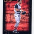2002 Upper Deck MVP Baseball #283 Aaron Boone - Cincinnati Reds