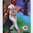 1998 Circa Thunder Baseball #282 Willie Greene - Cincinnati Reds