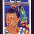 1990-91 Hoops Basketball #357 Rex Chapman - Charlotte Hornets