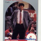1990-91 Hoops Basketball #331 Wes Unseld CO - Washington Bullets