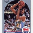 1990-91 Hoops Basketball #260 Harold Pressley - Sacramento Kings