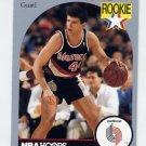 1990-91 Hoops Basketball #248 Drazen Petrovic RC - Portland Trail Blazers