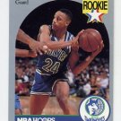 1990-91 Hoops Basketball #190 Pooh Richardson RC - Minnesota Timberwolves