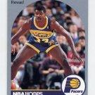1990-91 Hoops Basketball #137 Mike Sanders - Indiana Pacers