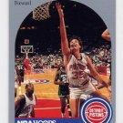 1990-91 Hoops Basketball #105 Scott Hastings - Detroit Pistons