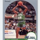 1990-91 Hoops Basketball #087 Sam Perkins - Dallas Mavericks