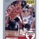 1990-91 Hoops Basketball #060 B.J. Armstrong RC - Chicago Bulls
