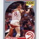 1990-91 Hoops Basketball #034 Alexander Volkov - Atlanta Hawks