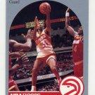1990-91 Hoops Basketball #033 Kenny Smith - Atlanta Hawks