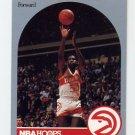 1990-91 Hoops Basketball #029 Cliff Levingston - Atlanta Hawks