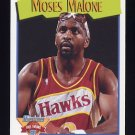 1991-92 Hoops Basketball #318 Moses Malone - Atlanta Hawks