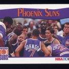 1991-92 Hoops Basketball #294 The Phoenix Suns