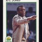 1991-92 Hoops Basketball #245 K.C. Jones CO - Seattle Supersonics