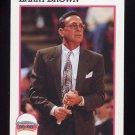 1991-92 Hoops Basketball #244 Larry Brown CO - San Antonio Spurs