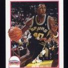 1991-92 Hoops Basketball #188 Willie Anderson - San Antonio Spurs