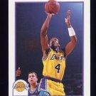 1991-92 Hoops Basketball #103 Byron Scott - Los Angeles Lakers