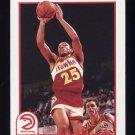 1991-92 Hoops Basketball #004 Doc Rivers - Atlanta Hawks