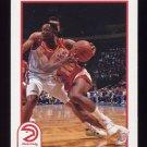 1991-92 Hoops Basketball #001 John Battle - Atlanta Hawks