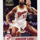 1993-94 Hoops Fifth Anniversary Gold #303 Andrew Lang - Atlanta Hawks