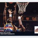 1993-94 Hoops Scoops #HS07 Reggie Williams - Denver Nuggets