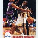 1993-94 Hoops Basketball #416 Calbert Cheaney RC - Washington Bullets