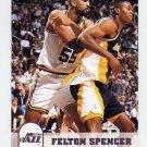 1993-94 Hoops Basketball #414 Felton Spencer - Utah Jazz