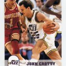 1993-94 Hoops Basketball #413 John Crotty - Utah Jazz
