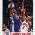 1993-94 Hoops Basketball #371 Armon Gilliam - New Jersey Nets