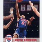 1993-94 Hoops Basketball #370 Kevin Edwards - New Jersey Nets