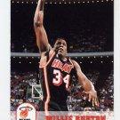 1993-94 Hoops Basketball #360 Willie Burton - Miami Heat