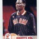 1993-94 Hoops Basketball #359 Manute Bol - Miami Heat