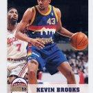 1993-94 Hoops Basketball #325 Kevin Brooks - Denver Nuggets