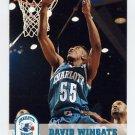 1993-94 Hoops Basketball #310 David Wingate - Charlotte Hornets