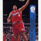 1995-96 Hoops Basketball #310 Brian Williams - Los Angeles Clippers
