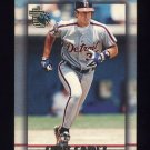 1995 Topps Embossed Baseball #042 Chris Gomez - Detroit Tigers
