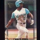 1995 Topps Embossed Baseball #016 Chuck Carr - Florida Marlins