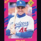 1990 Classic Update Baseball #T24 Mike Huff - Los Angeles Dodgers