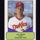 1990 Procards AAA Baseball #059 Jeff Fischer - Albuquerque Dukes