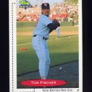 1991 Classic/Best Baseball #306 Tom Fischer - New Britain Red Sox