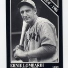 1991 Conlon TSN Baseball #027 Ernie Lombardi - Cincinnati Reds