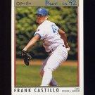 1992 O-Pee-Chee Premier Baseball #159 Frank Castillo - Chicago Cubs