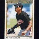 1992 O-Pee-Chee Premier Baseball #153 David Segui - Baltimore Orioles