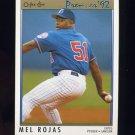 1992 O-Pee-Chee Premier Baseball #124 Mel Rojas - Montreal Expos
