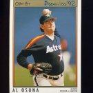 1992 O-Pee-Chee Premier Baseball #121 Al Osuna - Houston Astros