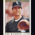 1992 O-Pee-Chee Premier Baseball #060 Kirk McCaskill - Chicago White Sox