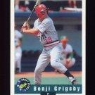 1992 Classic Draft Picks Baseball #015 Benji Grigsby - Oakland Athletics